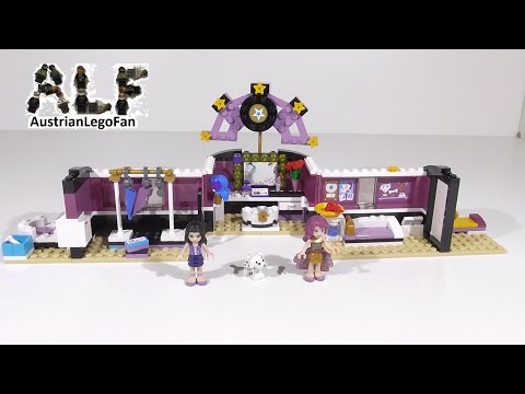 lego-friends-41104-pop-star-dressing-room-/-popstar-garderobe---lego-speed-build-review