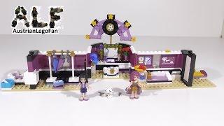Lego Friends 41104 Pop Star Dressing Room / Popstar Garderobe - Lego Speed Build Review