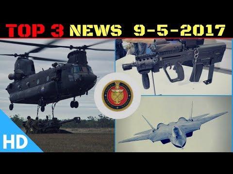 Top 3 Latest Headlines : Indian Defence Updates : Indian FGFA, Israel Tavor TOT, India Chinook Helis