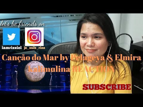 Canção Do Mar By Pelageya & Elmira Kalimulina REACTION