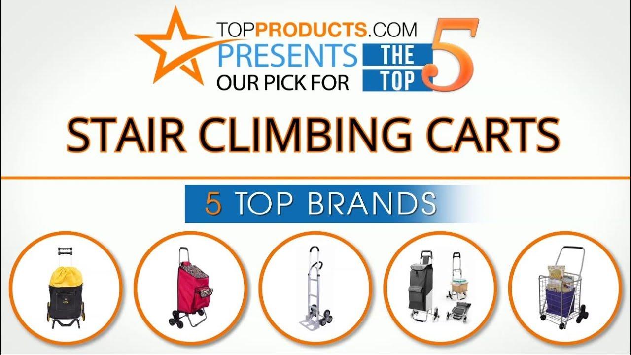 Best Stair Climbing Cart Reviews 2017 – How to Choose the Best Stair  Climbing Cart