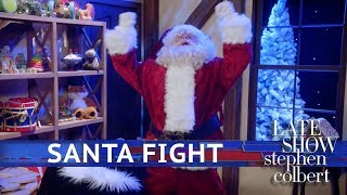 Kids Pitch: 'Santa Fight: Saving the Holiday from Atnas' Starring Bryan Cranston