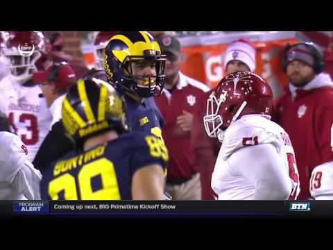 Indiana at Michigan - Football Highlights