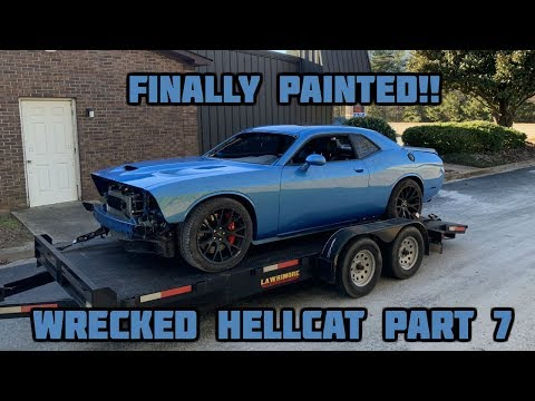 Rebuilding a Wrecked 2016 Dodge Hellcat Part 7