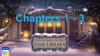 Adventure Escape Time Library: Chapters 1, 2, 3 Walkthrough Guide (Haiku Games)