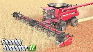 Żniwa potężnym kombajnem - Farming Simulator 17 [PLATINUM] | #25