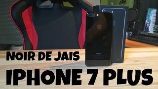 Déballage iPhone 7 Plus Noir de Jais