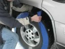 Installing Snobootz Tire Chain Alternative on an SUV