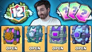 OPENING ALL RARE CHESTS! | Clash Royale | LEGENDARY CHEST & 12 WIN CHEST OPENING?!