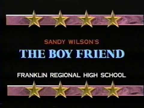 The Boyfriend - Franklin Regional High School - March 1996