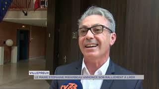 Villepreux : le maire Stéphane Mirambeau annonce son ralliement à LREM