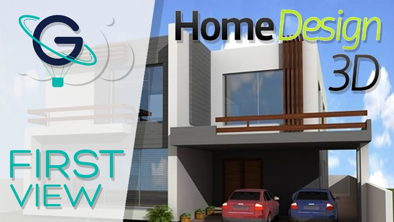 Home design 3d video firstview youtube for Create house design 3d