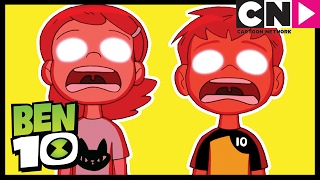 Ben 10 | Ben and Gwen's Body Switch! | Cartoon Network