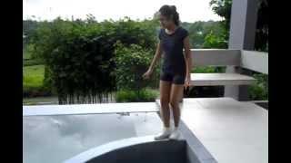 Ia Finally Walks on the Pool Thing