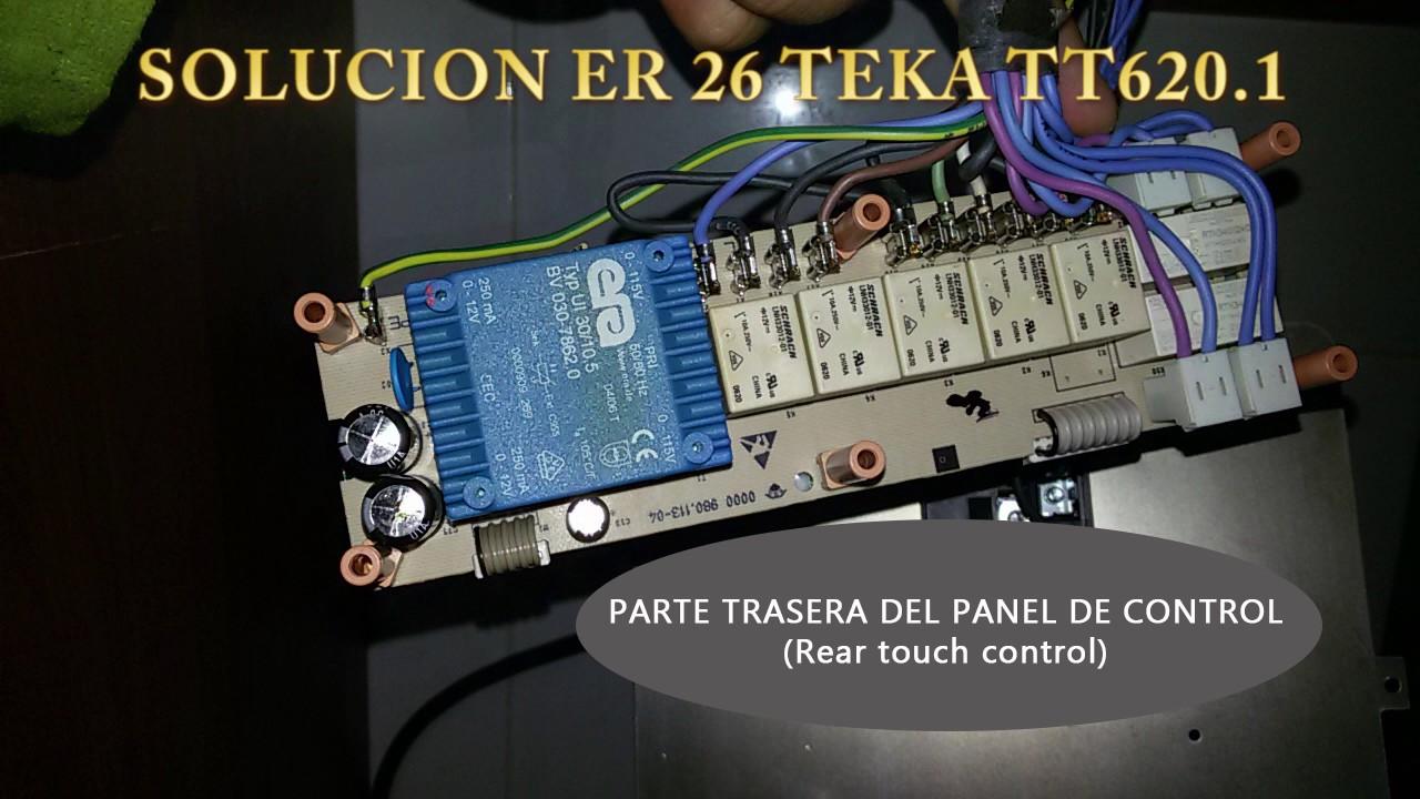 Codigos De Error Placa Induccion Teka Good Teka Encimera