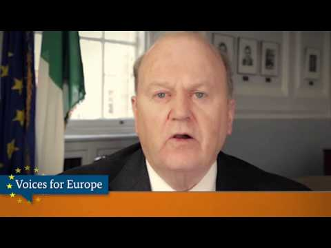 Voices for Europe: Michael Noonan, Minister for Finance, Ireland