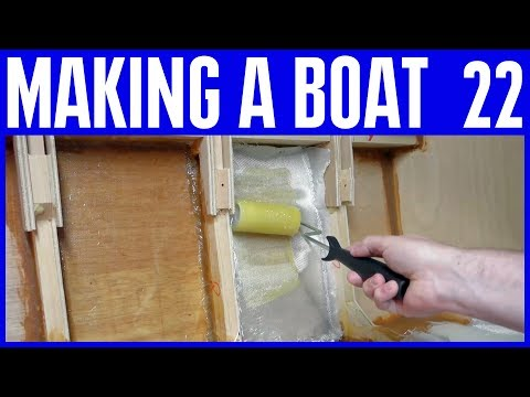 Epoxy Resin Fillets & Fiberglass with no gelcoat - How to Bu