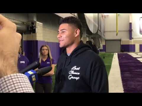 Kenny Hill talks pro day