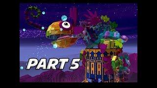 LEGO MOVIE 2 Gameplay Walkthrough Part 5 - Chameleon Boss (Video Game Let's Play)