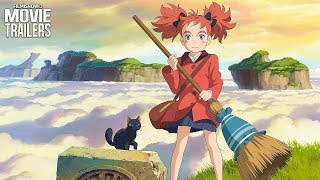 Mary and the Witch's Flower trailer is a magical tale of whimsy