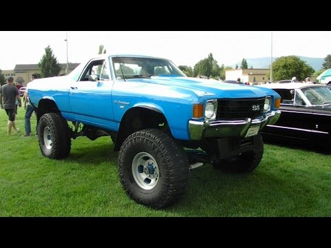 1971 el Camino 4x4  YouTube