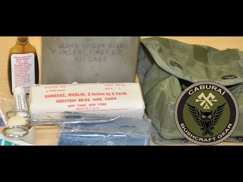 Vintage US Army I.F.A.K - Individual First Aid Kit M-1967
