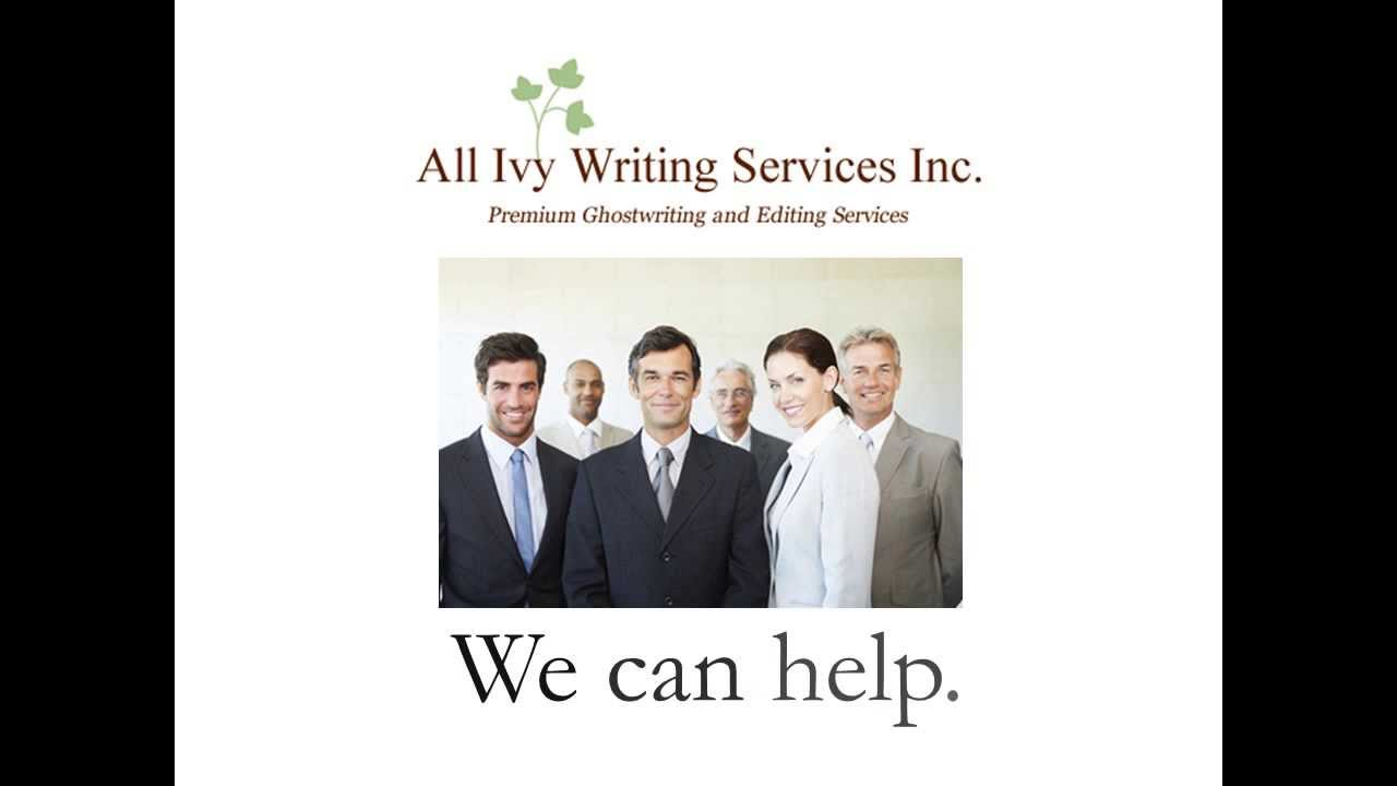 Ghostwriting service