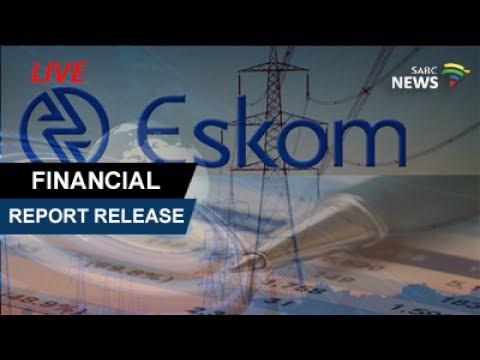 Eskom release financial results, 19 July 2017