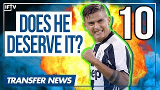 Video Does Paulo Dybala deserve the #10 for Juventus? | Serie A Transfer News download MP3, 3GP, MP4, WEBM, AVI, FLV Oktober 2017