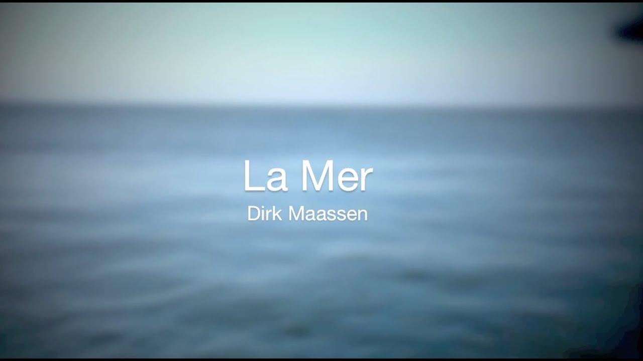 Dirk Maassen La Mer Endless Piano Chords Chordify