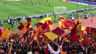 Roma Liverpool 4 - 2  FORZA ROMA FORZA LUPI da TUTTO LO STADIO 02/05/2018
