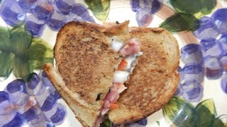 Grilled Cheese - Italian Inspired Grilled Cheese Sandwich