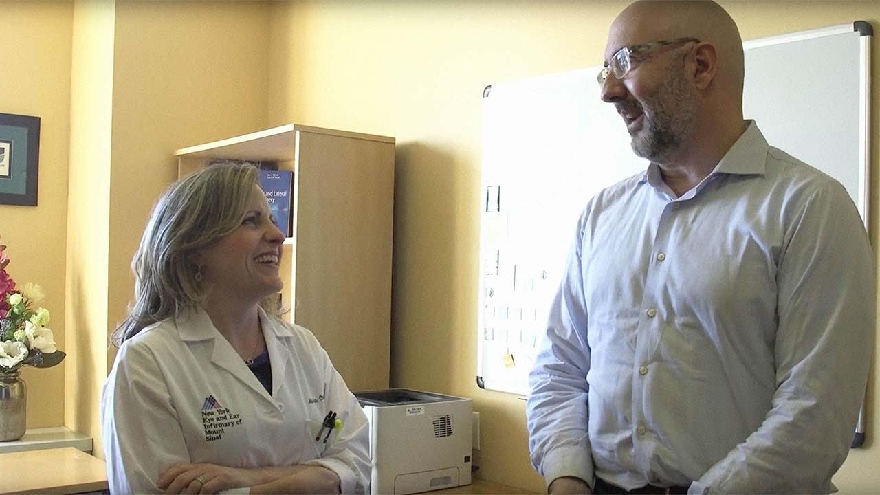 Arnold Blair: Titanium Prosthesis Helps Patient Regain Hearing