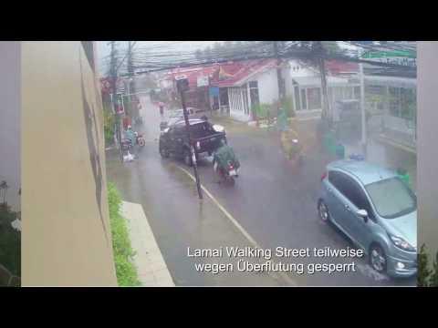 Koh Samui Wetter (Thailand) 05.01.2017