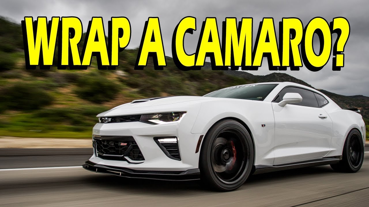 2016 camaro wrapped spoiler roof mirrors etc vlog - Camaro 2016 Ss White