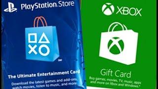 PSN XBOX Gift Card Giveaway!! #giveaway #fortnite #ninja