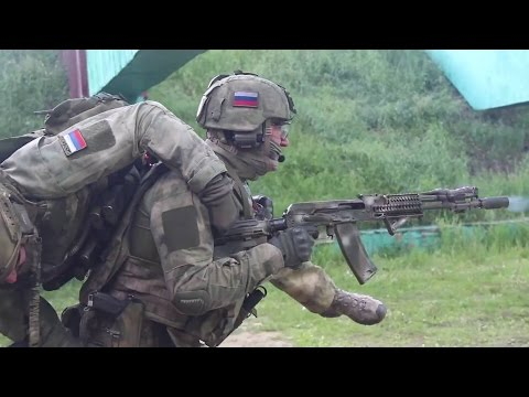 WATCH Russian paratroopers