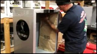 Custom Refrigerator Restored By Ricks Restorations  (create