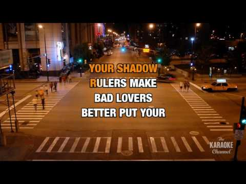 Gold Dust Woman in the style of Hole | Karaoke with Lyrics
