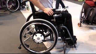 Neu e- fix Zusatzantrieb Rollstuhl 2015 elektrischer Antrieb Alber
