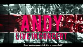 ANDY Live in Concert Oct. 4th 2015 (English)