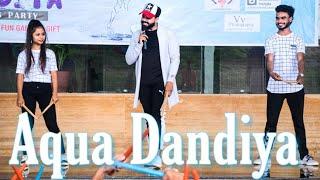 Aqua Dandiya | Moin Khan | First Time In India
