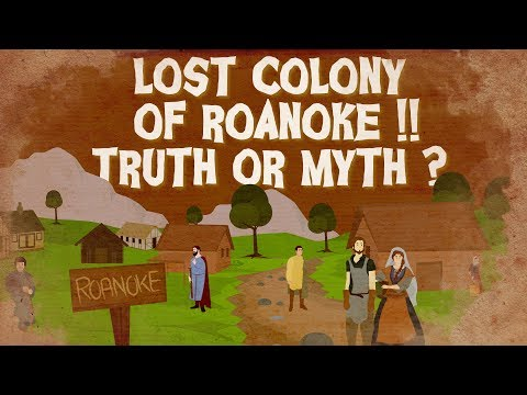 Lost Colony Of Roanoke !!  Truth Or Myth ? 4K