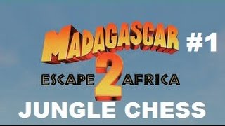 Madagascar: Escape 2 Africa - Jungle Chess Game (Playstation 2 Gameplay)