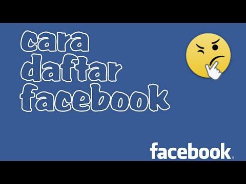 CARA  BUAT AKUN FB ATAU DAFTAR FACEBOOK  BARU DI ANDROID