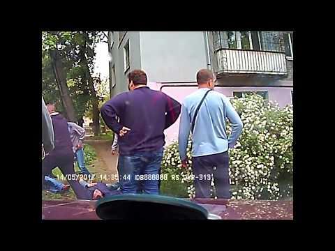 Стрельба в таксиста. Каменское. Полное видео.
