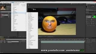Как сделать видео ГОВОРЯЩИЙ АПЕЛЬСИН - Adobe after effects