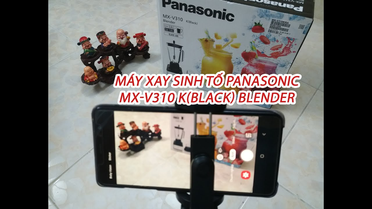 Panasonic blender mx-v 310 k (black) - Colorful Dishes at Home - Ultimate PowerBlade 2.0L [New 2020]