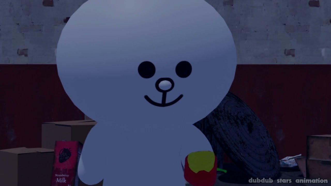 🍀 Cony Max Origin | Brawl Stars Animation | Line Friends Brown Cony | MOON SALLY CHOCO JAMES | LINE