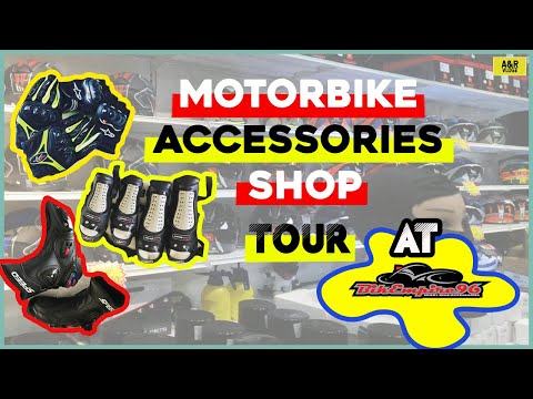 Getting Ready For Race Track | Safety Guard | Accessories Shop Tour at BikEmpire96 | A&R | VLOGZ